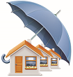 Insurance cover for houses in estates