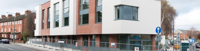 Vacant unoccupied building